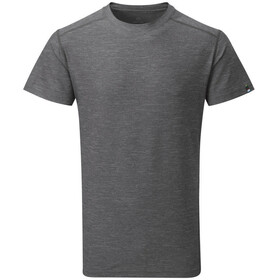 Sherpa Rinchen Shortsleeve Shirt Men grey